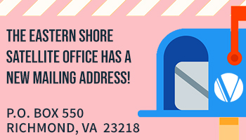 Centralized Mail for Eastern Shore Satellite Office